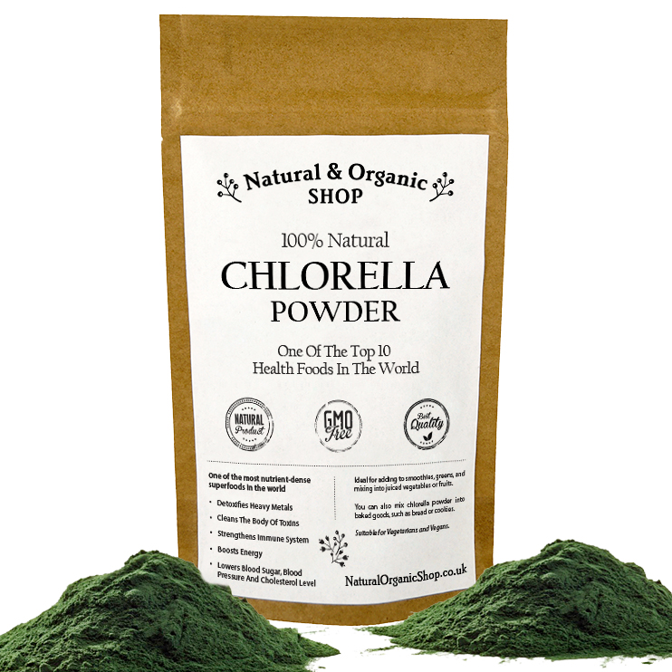 Chlorella Powder Broken Cell Wall Natural Amp Organic Shop