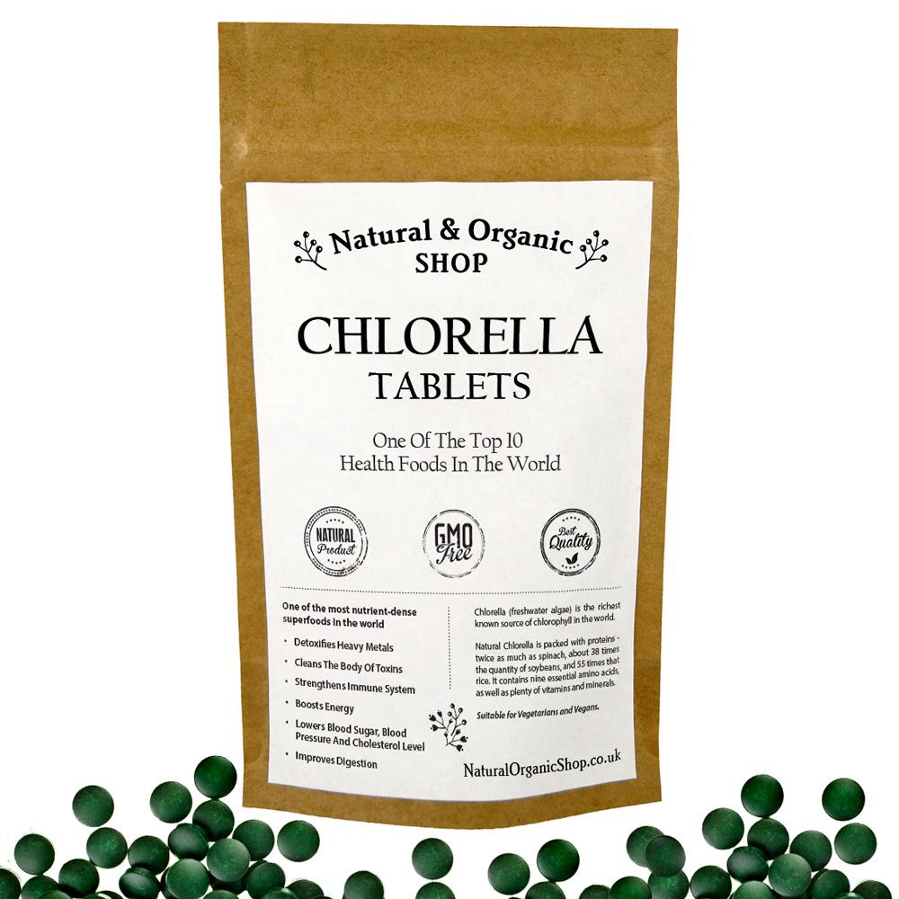 Chlorella Tablets Broken Cell Wall Natural Amp Organic Shop