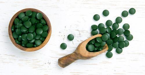 Spirulina-Tablets